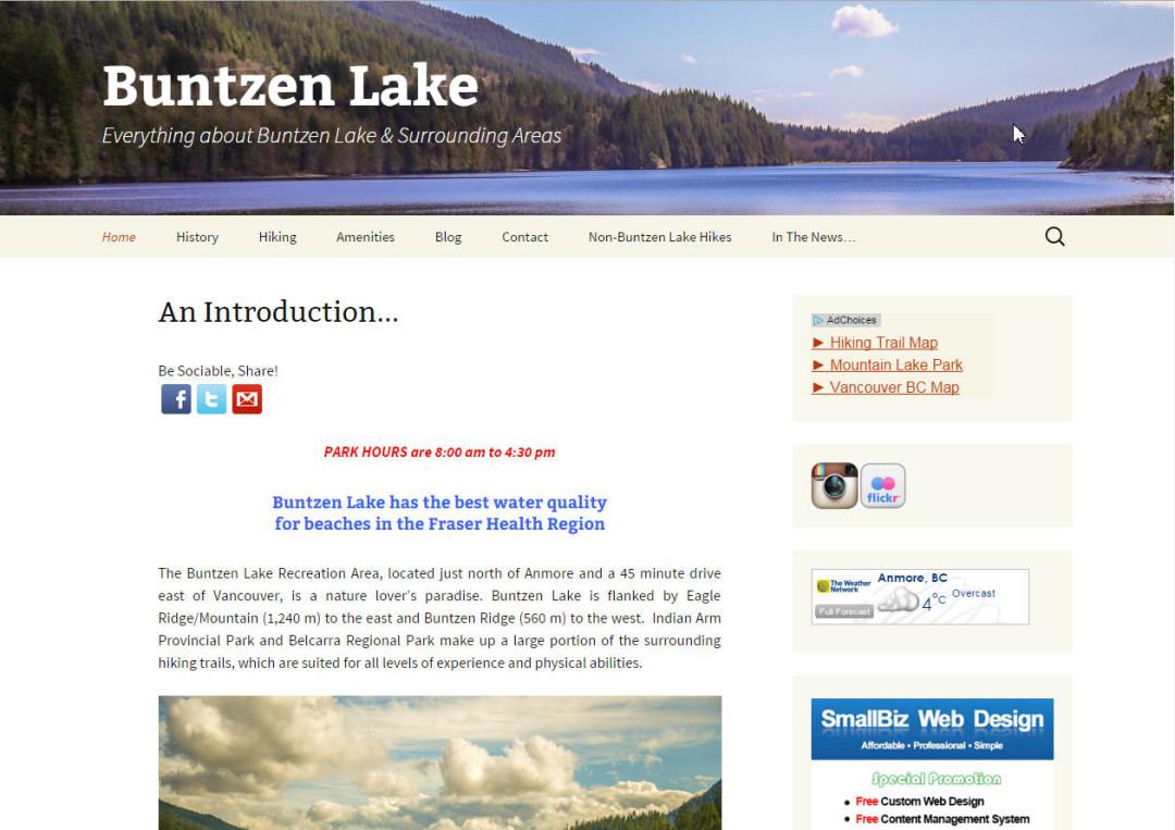 Bunttzen Lake