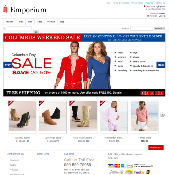 Clothing stores online. Starting your own clothing store